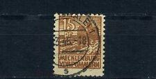 SBZ 15 Pfg. Abschiedsserie 1946 Michel 37 za geprüft (S10195)