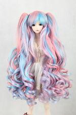 "New 1/4 Girl-BJD-SD-DOC-DOD-LUT-Doll-Wig-Long-Dollfie-7""Bjd Doll Wig FBE139"