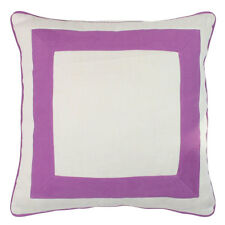 ONE DUCK TWO - Squared Purple Cushion 45x45cm