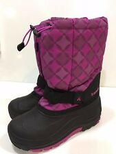 Kamik Girls' Winter Snow Boots Youth Size 5