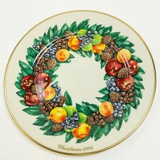 Vintage Lenox 1988 Colonial Christmas Wreath Limited Edition Plate 8th in Series