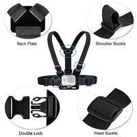 Adjustable Elastic Chest Strap Harness Mount Holder for Go Pro Hero 1/2/3/3+/4