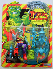 TOXIC CRUSADERS NOZONE PLAYMATES 1991 MOC UNPUNCHED FIGURE  W/PROTECTIVE CASE