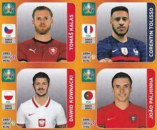 Panini Euro EM Tournament Edition Update Set Sticker Tolisso | Palhinha | Kalas