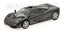 1/18 Minichamps mclaren f1 road car 1993 negro metálico