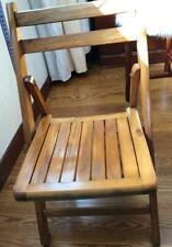 thuis opvouwbare houten stoel