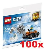 LEGO® 100x 30360 CITY Arctic Ice Saw POLYBAG   - NEW / FACTORY SEALED