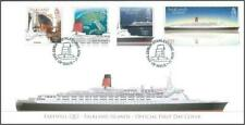 Falkland Islands 2008 Maritime Heritage Part 5 FDC - Q E 2 - Postmarked STANLEY
