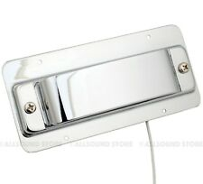 Bridge Pickup and Cover, Ring Assembly for Rickenbacker® Bass, CHROME - NEW