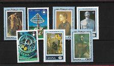 GHANA SG1870/6, 1993 ANNIVERSARIES & EVENTS, MNH, CAT £14+