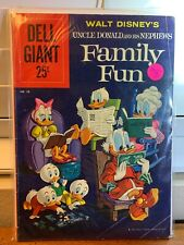 Dell Giant #38 - Walt Disney's Uncle Donald and His Nephews Family Fun 1960 Rare