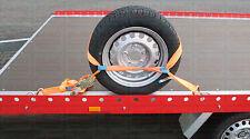 2 x Spanngurt Autotransporter Zurrgurt Set Anhänger Reifen Gurt 35mm DIN121195-2