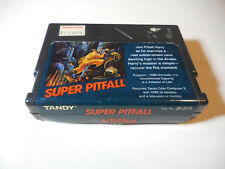 TRS-80 Tandy Coco 3 Super Pitfall color computer cartridge - WORKS
