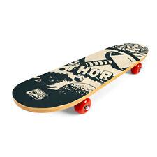 Skateboard Funboard Deck Holzboard Komplett Kinder 61cm Holz  Thor Marvel