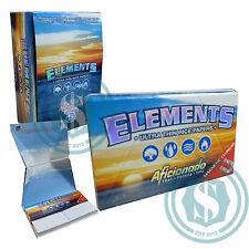 15 Elements Aficionado 1 1/4 1.25 78mm Rice Rolling Papers #SmoKingUK