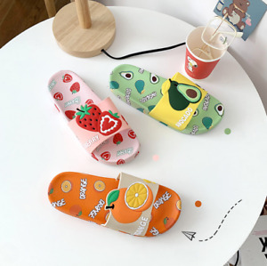 Ladies summer new fashion home casual shoes bathroom cartoon slippers sandals