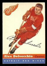 1954-55 TOPPS  ALEX DELVECCHIO #39 DETROIT RED WINGS