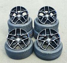 18 Zoll Borbet Y Alu Felgen 5x108 et45 schwarz für Ford Focus RS ST MK2 MK3 MK4