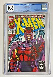 X-Men #1 CGC 9.6 Marvel comics 1991 Magneto cover