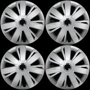"16"" Set of 4 VW Jetta Beetle Wheel Covers Full Rim Hub Caps fit R16 Steel Rims"
