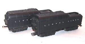 Lionel Postwar 2671WX & 2671 Whistle Tenders for Locomotives! PA