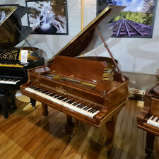 More details for steinway & sons model o baby grand piano walnut | 107479 | sherwood phoenix |...