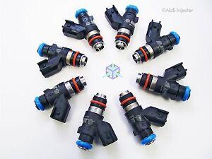 Set of 8 AUS Injectors 1300 cc fit CAMARO SS, CORVETTE Z06/ZR1 & G8 GXP [D8-0]