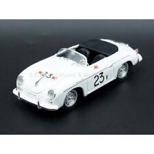 """PORSCHE 356 A SPEEDSTER 1955 N°23 PALM SPRINGS DE """" JAMES DEAN """" 1:43 BRUMM"""