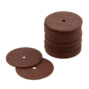 36PCS Resin Cutting Wheel Disc Bit For Dremel Rotary Tool Heavy Duty Red (118)