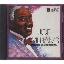 JOE WILLIAMS THAD JONES MEL LEWIS ORCHESTRA - CD 1990 SIGILLATO SEALED