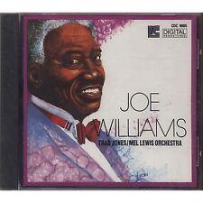 JOE WILLIAMS THAD JONES MEL LEWIS ORCHESTRA - CD 1990 SIGILLATO SEALED