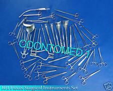Basic Laparotomy Set 104 Pcs Surgical Instruments Surgery Medical Abdominal Gold