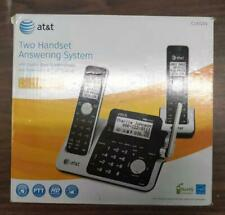 At&T Cl83201 1.9 Ghz Dual Two Handsets answering system Dect 6.0 caller Id