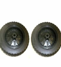 2 Pack of Genuine 583105601 Husqvarna Wheels 9x2