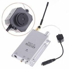 New Mini Wireless 1.2Ghz CMOS Surveillance Camera Monitor With Radio AV Receiver