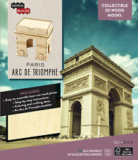 Paris Arc De Triomphe 3d Wood Model  - BRAND NEW