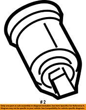 FORD OEM-Ignition Lock Cylinder 5S4Z11582BB