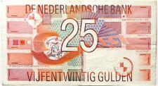25 Gulden 1989 Banknote Geldschein Niederlande