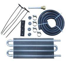 4 Row Aluminum Transmission Oil Cooler Radiator Converter Manual to Automatic