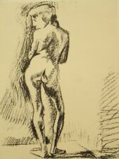 Antique Henri Matisse lithograph engraving from drawing; Nude,1925
