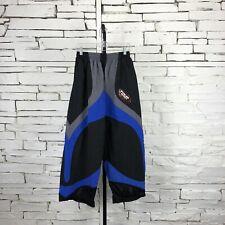 Tour Rage Men's Roller Hockey Pants Nylon HPA 40BM Elastic Waist Black/Blue GUC