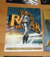 Tomb Raider The Cradle Of Life Promo Card TR2-SD2003 MINT