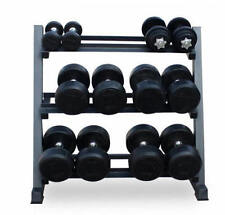 Musculation rack Storag Gym Large Heavy Duty 3 Niveau Acier Support Stand