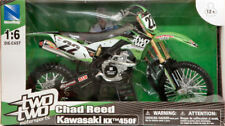 Kawasaki Kx 450f Chad Reed 2014 Moto Motocross 1:6 Model 49493 NEW RAY