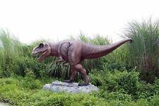Large Jurassic T-Rex Dinosaur Statue - Museum Quality 10.5 Ft Long Life Size