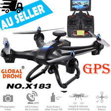 Global Drone 6-axes X183 V2 2mp WiFi FPV HD Camera GPS Brushless Quadcopter Hot