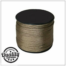 New 100m Olive Green Paracord Reel 3mm Basha Tent Bivi Camping Guy Rope ParaCord