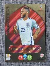 2018 ADRENALYN WORLD CUP; RAHEEM STERLING LIMITED EDITION. PREMIUM