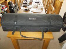 Bowens studio lighting Soft Padded Wheeled Deluxe Kit Bag BLACK