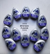11 Bottles MiO 11 Berry Grape and one Mystery Flavor Liquid Water Enhancer